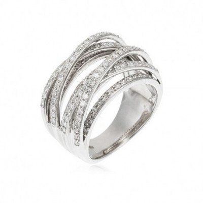 "Bague Or Blanc 375 ""New..."