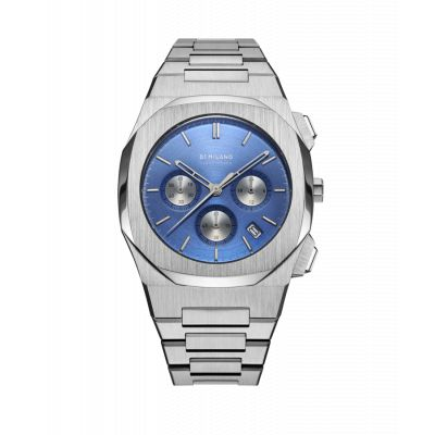 D1 Milano Iconic Blue Chronograph - D1-CHBJ02
