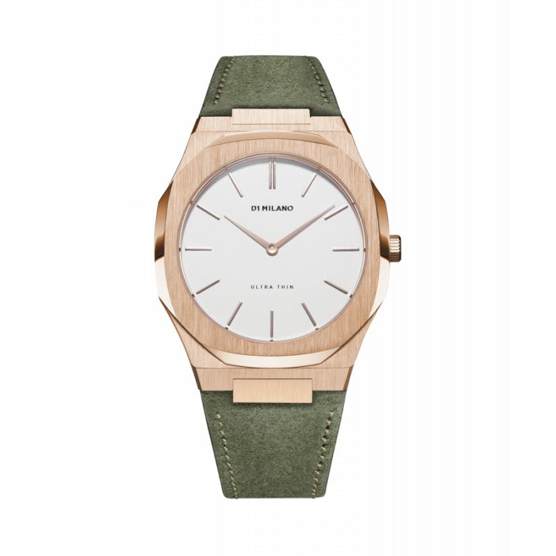 Montre D1 Milano Ultra Thin Suede Leather