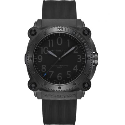 Montre Hamilton BeLOWZERO Auto - Blue Limited Edition