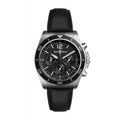 Montre Bell & Ross Homme Black Steel