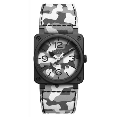 Montre Bell & Ross Homme White CAMO - Edition limitée