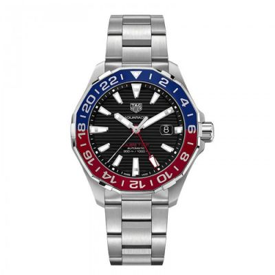 Montre Tag Heuer Aquaracer Calibre 7 GMT- WAY201F.BA0927