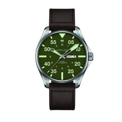 Montre Hamilton KHAKI AVIATION PILOT SCHOTT NYC - LIMITED EDITION