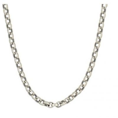"Collier Homme ""Rony"" Argent 925"