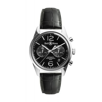 Montre Bell & Ross BR 126 OFFICER BLACK