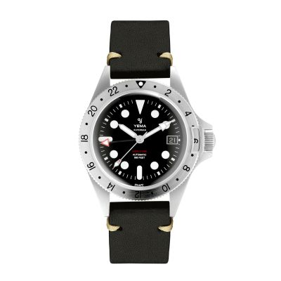 Montre Yema Gmt 2021 - Auto - Ygmt21A41-Aas
