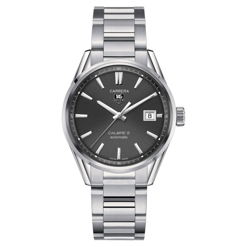 Montre Tag Heuer Carrera Calibre 5 Automatique - WAR211C.BA0782